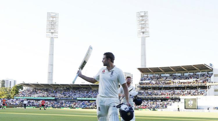 Dawid Malan enjoyed maiden Test century despite Australia's imposing pacemen