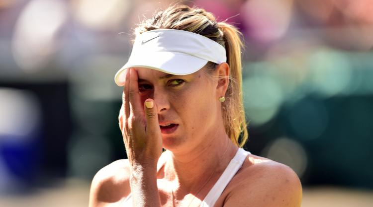 Maria Sharapova sees Stuttgart challenge ended by Kristina Mladenovic