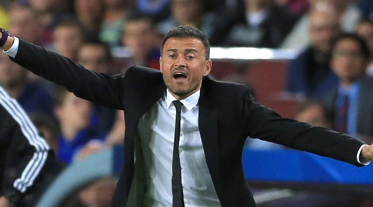 Luis Enrique delighted with Barcelona's 'complete performance' in 100th match