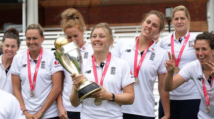 Tammy Beaumont hopes World Cup win will inspire furture female cricketers
