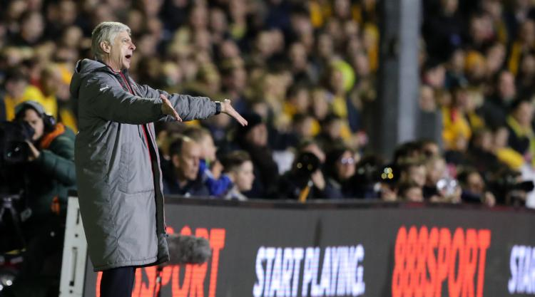 Arsene Wenger 'astonished' by Sutton's performance as Arsenal progress in FA Cup