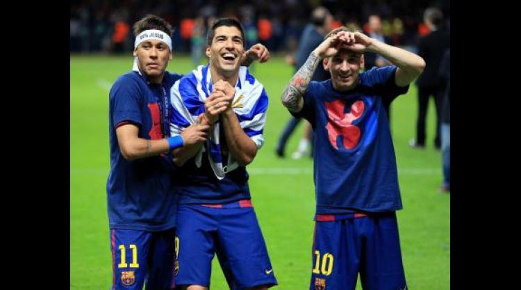 Luis Enrique: Lionel Messi, Luis Suarez and Neymar aren't happy until they score
