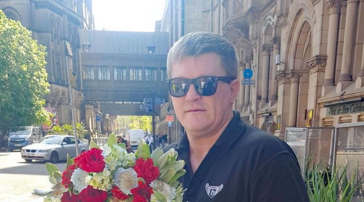 Ricky Hatton pays tribute to victims of attack on 'second home' Manchester Arena