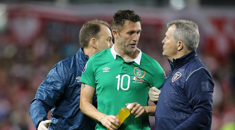 Republic will never give up - Keane