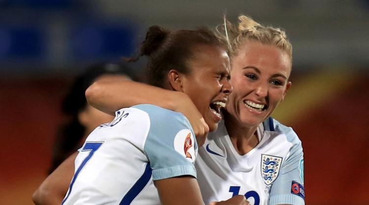 Striker Nikita Parris is full of confidence for quarter-final clash with France