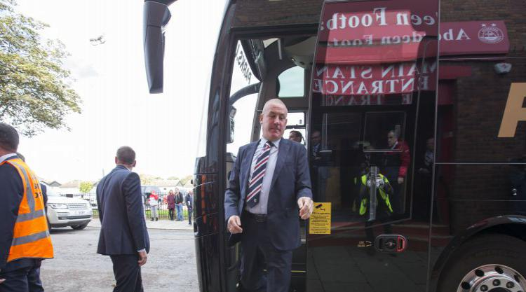 Rangers 'disgusted' As Team Bus Vandalised With Graffiti On Ibrox Disaster
