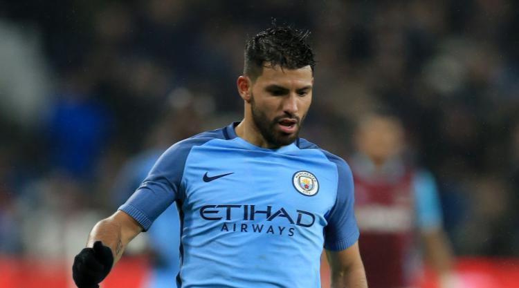 Manchester City boss Guardiola denies discussion took place over Aguero's future