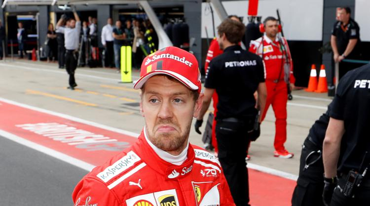 I hate losing, but there is no reason to panic, says Vettel