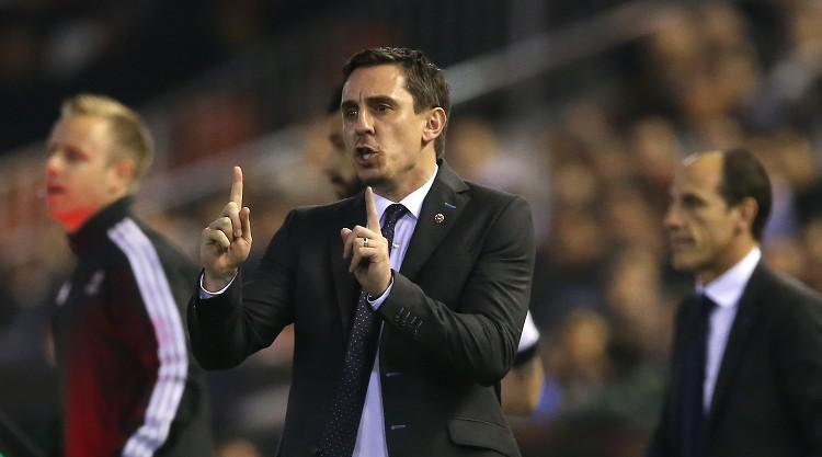 Pressure mounting on Gary Neville as Valencia's struggles continue