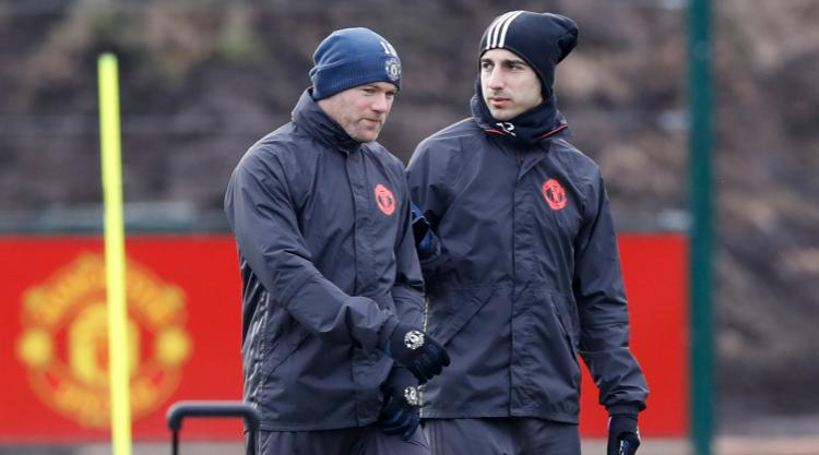 Wayne Rooney returns to Manchester United training ahead of St Etienne clash