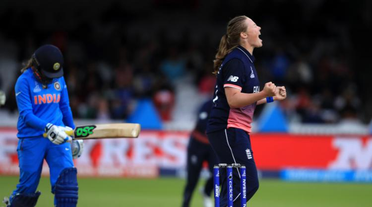 Natalie Sciver's half-century helps England set target of 229 at Lord's