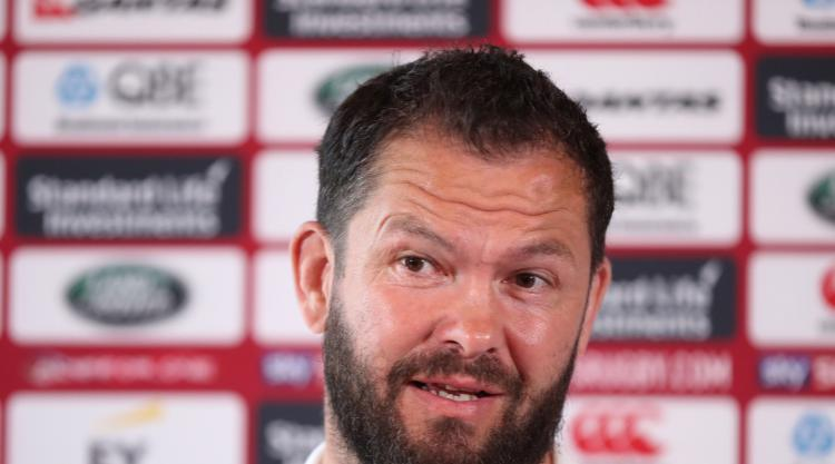 Andy Farrell gives parting message to Lions players ahead of tour