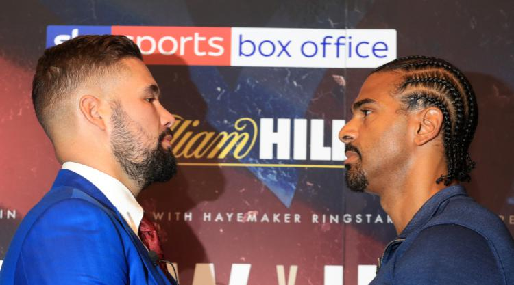 David Haye and Tony Bellew to fight again in May