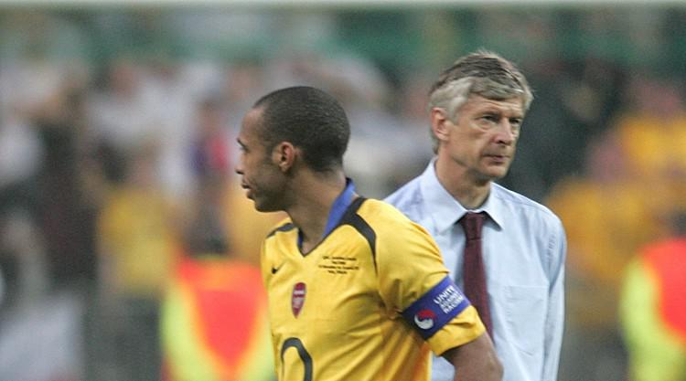 Wenger disagrees with Henry