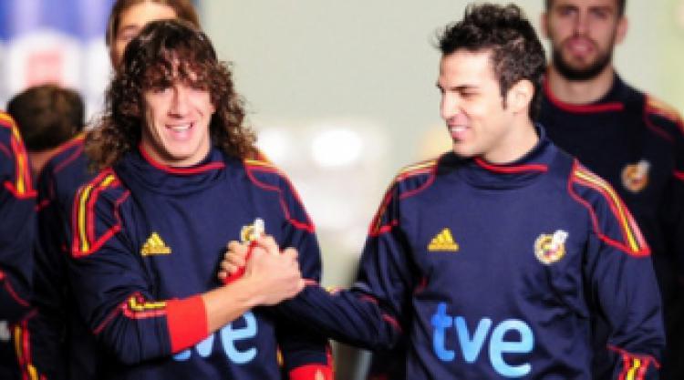 بارسلونا آرسنال طرفداری