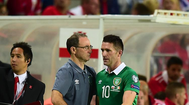 Republic of Ireland boss Martin O'Neill has Georgia on his mind