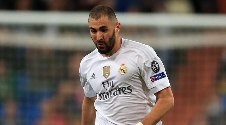 Real Madrid striker Karim Benzema facing spell out