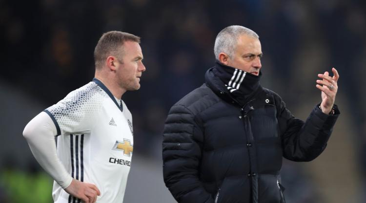 Jose Mourinho pondering Wayne Rooney start in EFL Cup final