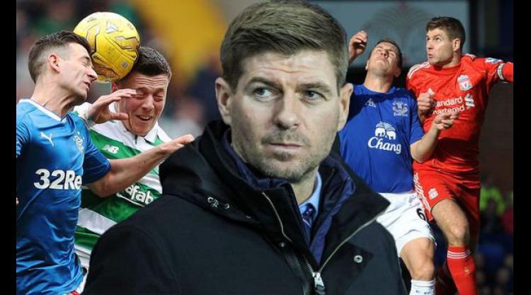 Rangers boss Steven Gerrard explains how Celtic rivalry compares to Liverpool vs Everton