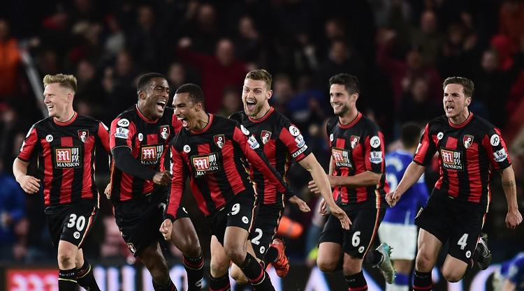 Bournemouth fightback to earn draw against Everton