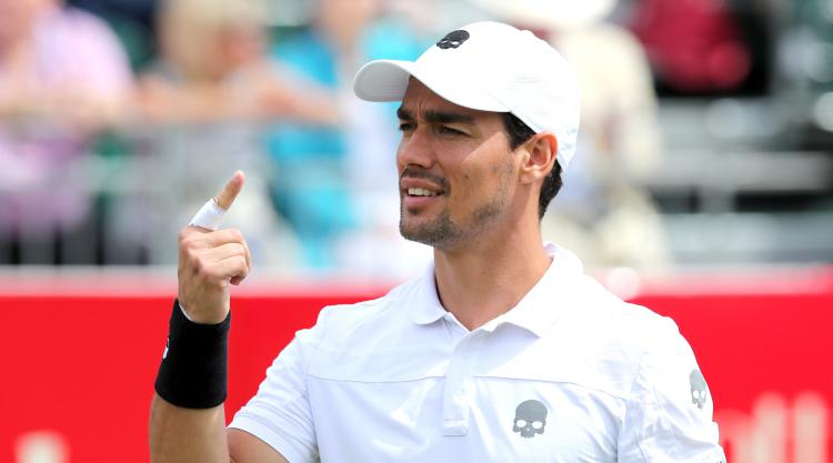 Fognini battles back from the brink to reach final in St Petersburg