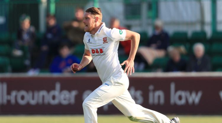 Essex in the driving seat against Hampshire at Chelmsford