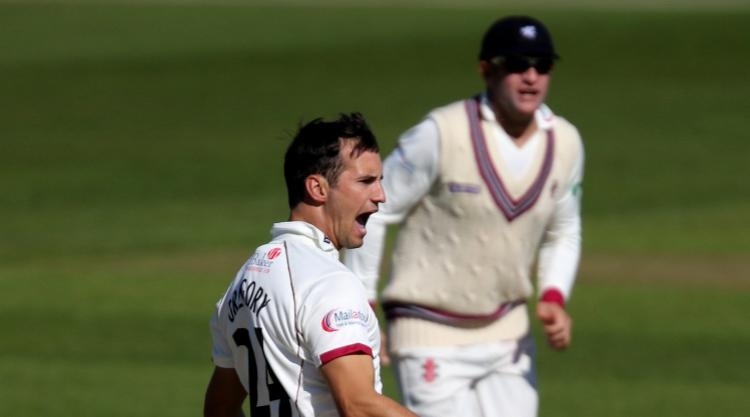 Lewis Gregory and Craig Overton rip through Middlesex
