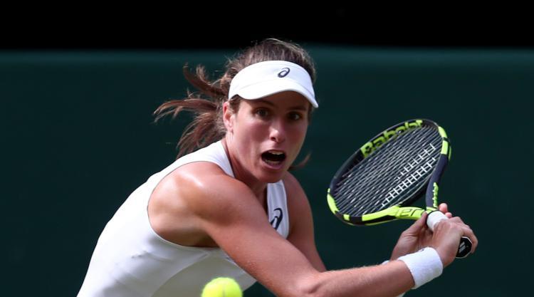Johanna Konta falls to Simona Halep in quarter-finals in Cincinnati