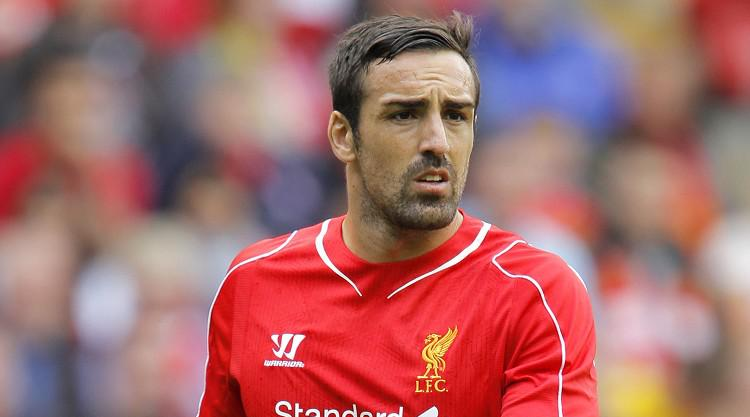 Up and down day for Liverpool defender Jose Enrique