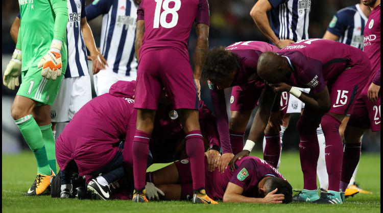 Man City's Gundogan expected back soon after knee tests show no serious damage