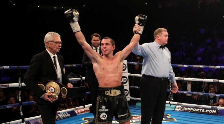 Scott Quigg's fight with Viorel Simion upgraded to IBF title eliminator