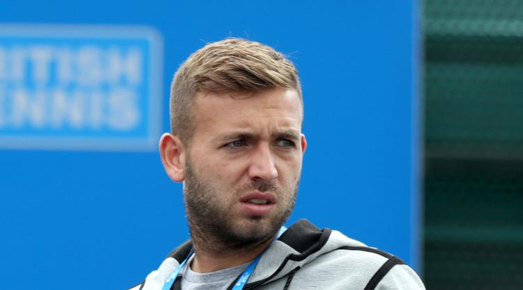 British number three Dan Evans reveals he failed drugs test for cocaine in April