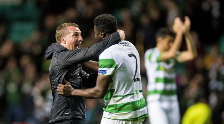 Brendan Rodgers Celtic would be topsix club in England