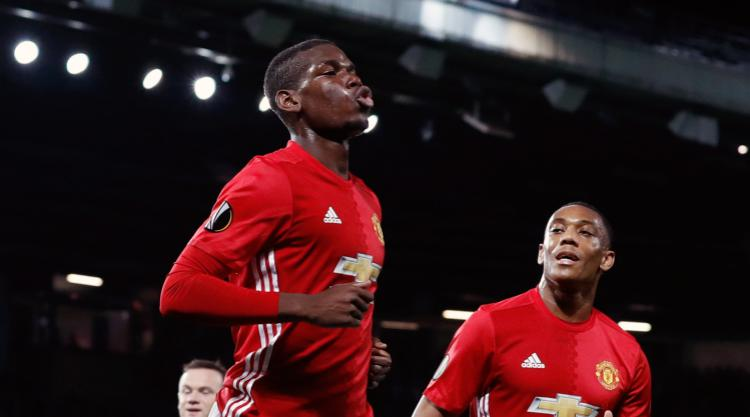 Paul Pogba scores twice in comfortable win for United