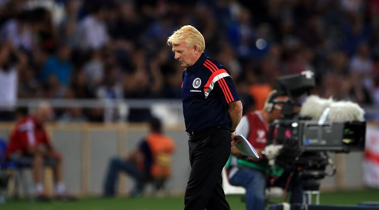 Scotland boss Gordon Strachan: