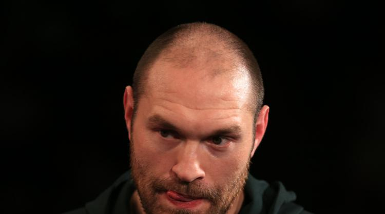 'On a mission' Tyson Fury wants to make his family, friends and fans proud again