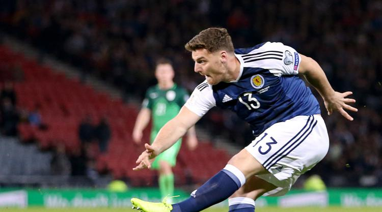 Late Chris Martin goal gives Scotland victory over Slovenia at Hampden Park