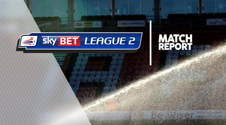 Exeter 2-3 Mansfield: Match Report