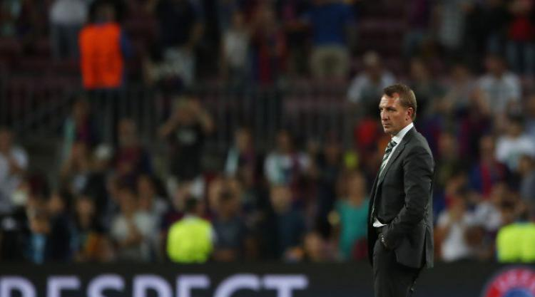 Brendan Rodgers under no illusions as to the task Celtic face in Manchester City