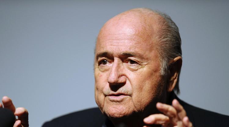 Blatter hits back at Figo claims