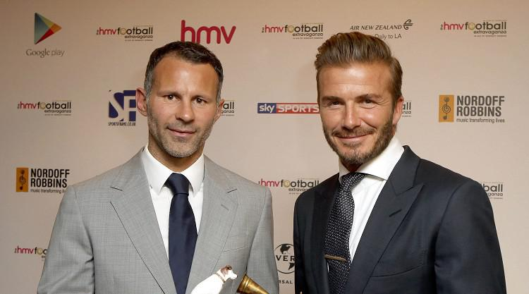 David Beckham sees Ryan Giggs as future Man Utd manager