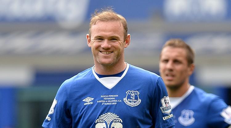 Rooney enjoys Goodison return
