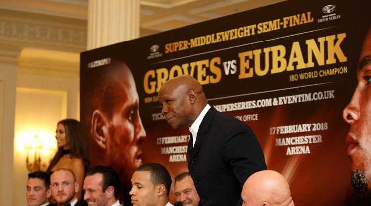 Chris Eubank leaps to son's defence after George Groves calls him 'Insta famous'