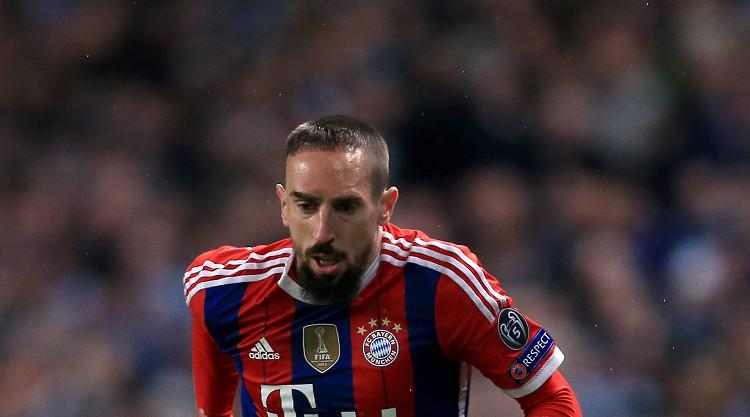 Ribery a 'warrior' who played on with injury, says Guardiola