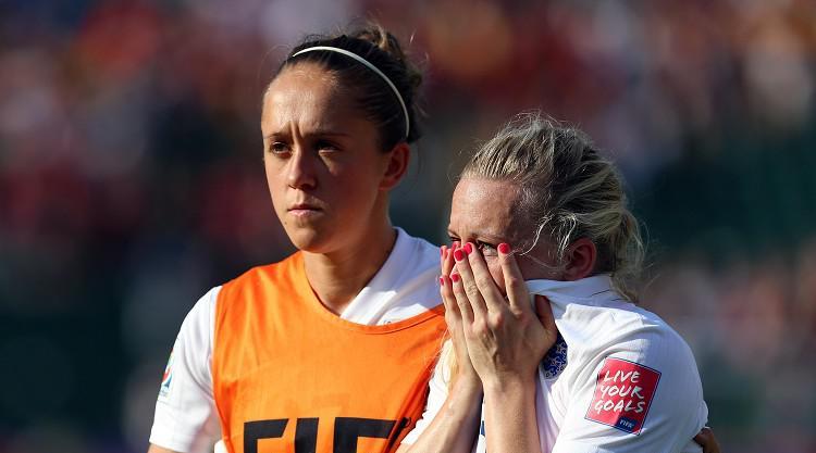 Heartbreak for England Women