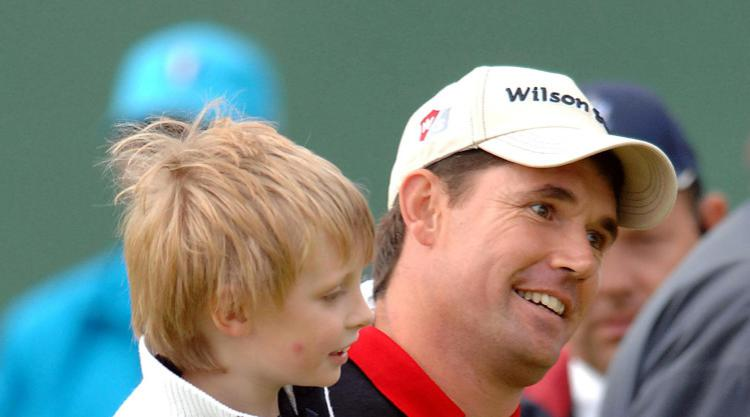 My son's not a big golf fan, admits Harrington ahead of Father/Son Challenge