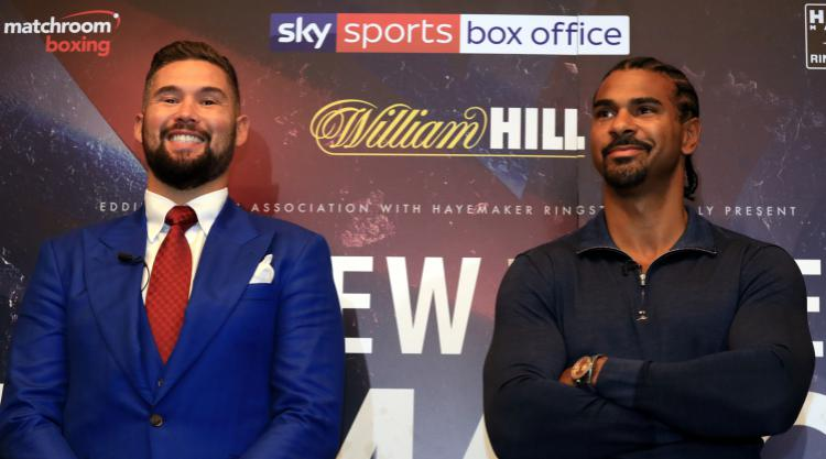 David Haye intrigued by Tony Bellew's motivation for December rematch