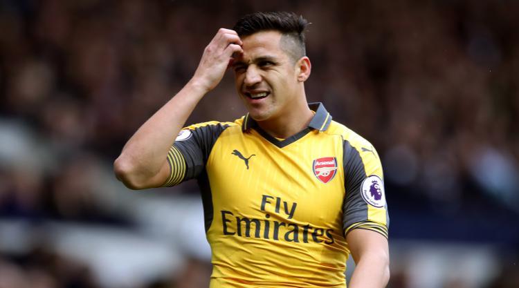 Arsenal striker Alexis Sanchez 'happy' in London
