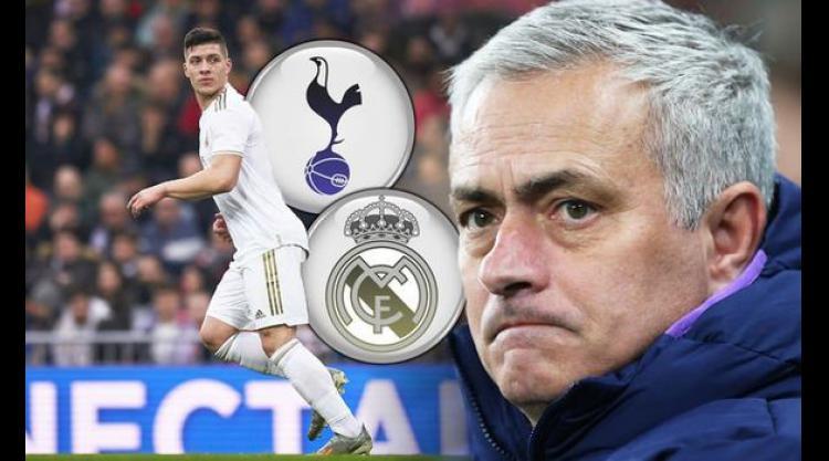 Tottenham boss Jose Mourinho adds Real Madrid striker Luka Jovic to his transfer wishlist