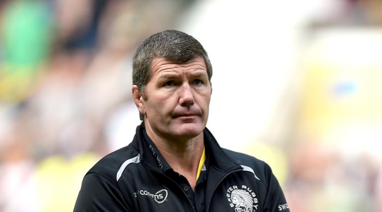Exeter coach Rob Baxter relishing Premiership showdown with Wasps